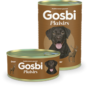 Консервы Gosbi Plaisirs для собак с олениной и овощами