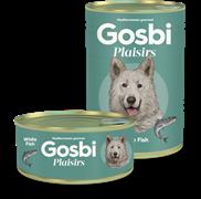 Консервы Gosbi Plaisirs для собак с белой рыбой и картофелем