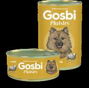 Консервы Gosbi Plaisirs для собак с ягненком и овощами (Lamb)