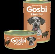 Консервы Gosbi Plaisirs для собак с диким кабаном и овощами (Wild Boar)
