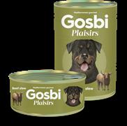 Консервы Gosbi Plaisirs для собак тушеная говядина с овощами (Beef Stew)