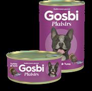 Консервы Gosbi Plaisirs для собак с индейкой, тунцом и овощами (Turkey & Tuna)