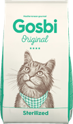 Сухой корм GOSBI Original для стерилизованных кошек и кошек склонных к лишнему весу с курицей