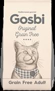 Беззерновой сухой корм GOSBI Original для взрослых кошек с курицей (Grain Free Adult Cat)