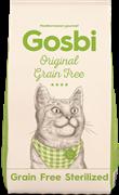 Беззерновой сухой корм GOSBI Original для стерилизованных кошек с курицей (Grain Free Sterilized Cat)