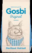 Сухой корм GOSBI Original для стерилизованных кошек для вывода шерсти с курицей (Sterilized Hairball Cat)