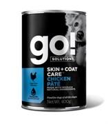 Консервы GO! для щенков и собак с курицей (GO! Skin + Coat Chicken Pate DF)