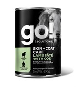 Консервы GO! для щенков собак с ягненком и треской (GO! Skin + Coat Lamb Pate with Cod DF)