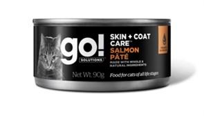 Консервы GO! для котят и кошек с лососем (GO! Skin + Coat Salmon Pate CF)