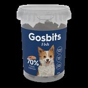 Лакомство полувлажное Gosbits для собак с мясом лосося (Gosbits Fish)