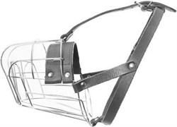 Метталический намордник для собак с удлиненной мордой JULIUS-K9 Big размер 40 х 13 х 11 см