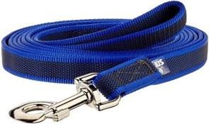 Поводок для собак с ручкой JULIUS-K9 Color & Gray Super-grip ширина 2 см длина 300 см, для собак весом до 50 кг