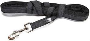 Поводок для собак с ручкой JULIUS-K9 Color & Gray Super-grip ширина 2 см длина 300см, для собак весом до 50 кг