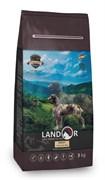 Сухой корм Landor для взрослых собак всех пород с ягненком и рисом Dog Adult Lamb with Rice