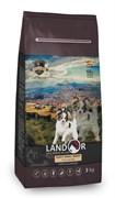 Сухой корм Landor для взрослых собак мелких пород с уткой и рисом Dog Adult Small Breed Duck with Rice