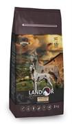 Сухой корм Landor для взрослых собак крупных пород с ягненком и рисом Dog Adult Large Breed Lamb with Rice