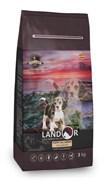 Сухой корм Landor для щенков всех пород с уткой и рисом Puppy All Breed Duck with Rice