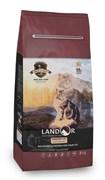 Сухой корм LANDOR для домашних кошек с уткой и рисом Indoor Cat Duck with Rice