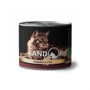 Консервы Landor для котят с индейкой и уткой Kitten Turkey and Duck