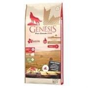 Беззерновой сухой корм Genesis Pure Canada для собак с ягненком с повышенной влажностью (Shallow Land)