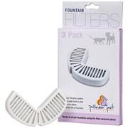 Комплект угольных фильтров для автопоилок Pioneer Pet RainDrop - набор 3 шт.