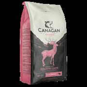 Беззерновой сухой корм Canagan для щенков и собак малых пород с уткой, рыбой и олениной Grain Free Country Game Small Breed All Life Stages