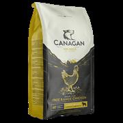 Беззерновой сухой корм Canagan для щенков и собак крупных пород с цыпленком Grain Free Free Range Chicken Large Breed All Life Stages