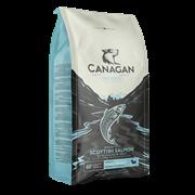 Беззерновой сухой корм Canagan для щенков и собак малых пород с шотландским лососем Grain Free Scottish Salmon Small Breed All Life Stages