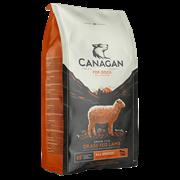 Беззерновой сухой корм Canagan для щенков и собак всех пород с ягненком Grain Free Grass Fed All Breed All Life Stages