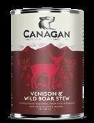 Консервы беззерновые Canagan для собак Рагу из оленины и дикого кабана Canagan Venison & Wild Boar Stew
