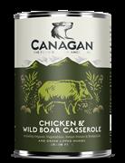 Консервы беззерновые Canagan для собак тушеная курица и дикий кабан Chicken & Wild Boar Casserole