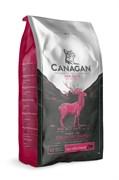 Беззерновой сухой корм Canagan для котят и кошек с уткой, олениной и кроликом Grain Free Country Game for Cats