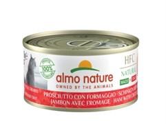 Консервы ALMO NATURE HFC Natural для кошек Итальянские рецепты: Ветчина и пармезан HFC Natural Made in Italy Ham with Parmigiano