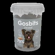 Лакомство полувлажное Gosbits Dental Защита зубов для собак малых пород