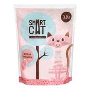 Силикагелевый наполнитель SMART CAT с ароматом детской присыпки