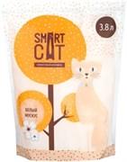 Силикагелевый наполнитель SMART CAT с ароматом Белый мускус