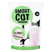 Силикагелевый наполнитель SMART CAT для чувствительных кошек (без аромата)