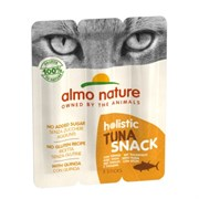 Колбаски Almo Nature для кошек   Тунец , 3шт. (Azul Label Snack Cat Tuna), 15 гр.