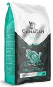 Беззерновой сухой корм Canagan Dental для котят и кошек с индейкой Grain Free Free Run Turkey Dental For Cats