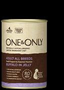 Консервы ONE&ONLY для собак всех пород с буйволом в желе