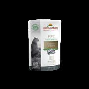 Пауч ALMO NATURE HFC Natural Plus для взрослых кошек с тунцом индийского океана 91% мяса (Alternative Indian Ocean Tuna)