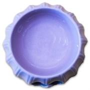 Миска керамическая КерамикАрт Лиловая с узором