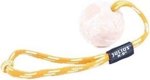 Особопрочная игрушка для собак JULIUS-K9 мяч с ручкой 6 см