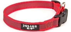 Ошейник для собак JULIUS-K9 Color & Gray длина 39 - 65 см / 2,5 см красный