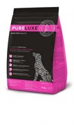 Беззерновой сухой корм PURELUXE с индейкой, лососем и чечевицей для стерилизованных собак и собак, склонных к лишнему весу