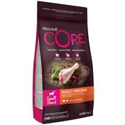 Беззерновой сухой корм WELLNESS CORE для собак мелких пород с индейкой и курицей Small Breed Original Turkey Recipe
