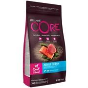 Беззерновой сухой корм WELLNESS CORE для собак мелких пород с лососем и тунцом Small Breed Ocean Salmon with Tuna Recipe