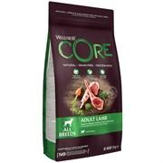 Беззерновой сухой корм WELLNESS CORE для взрослых собак всех пород пород с ягненком и яблоком Dog Lamb Recipe