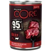 Консервы беззерновые Wellness Core для собак из говядины с брокколи Adult Dog Beef with Broccoli