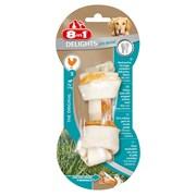Косточка для чистки зубов с куриным мясом для мелких и средних собак 8in1 DENTAL DELIGHTS S с минералами 11 см